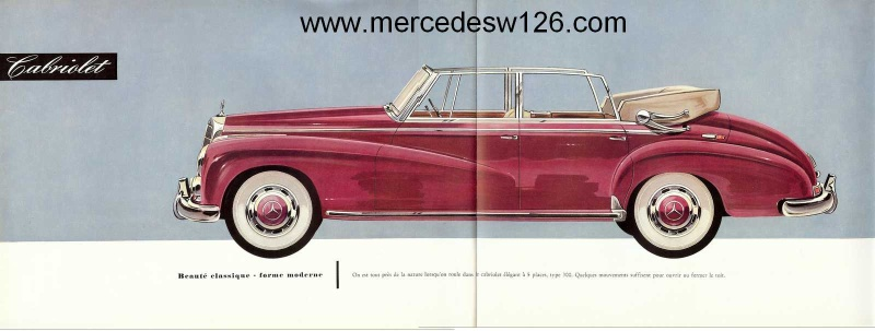 "Catalogue de 1951 sur la Mercedes W186 300 ""Adenauer"" W186_116"