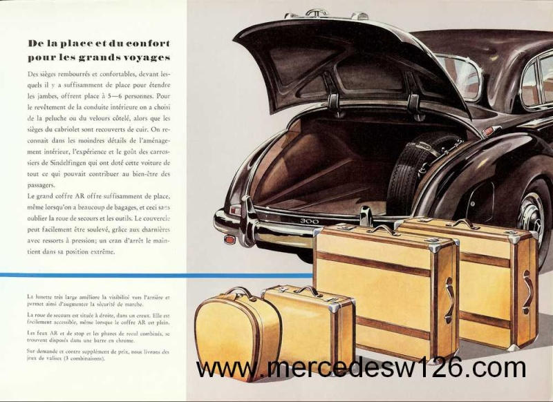 "Catalogue de 1951 sur la Mercedes W186 300 ""Adenauer"" W186_117"