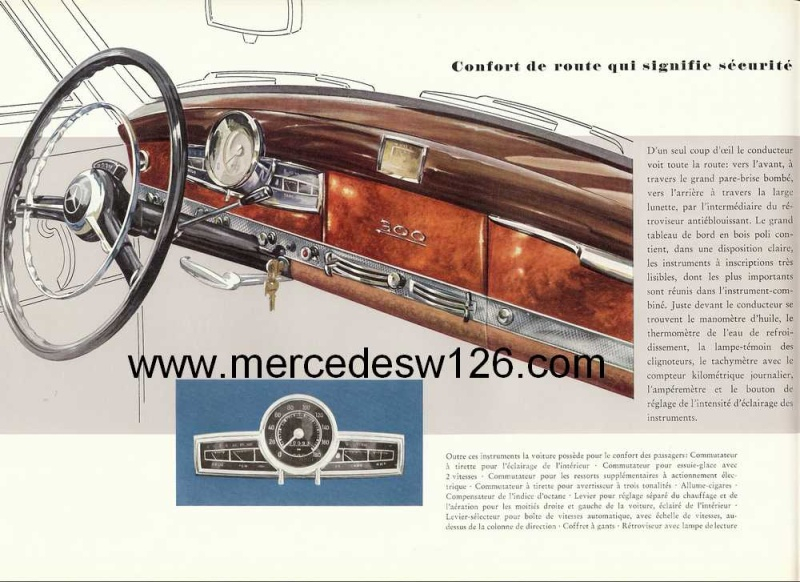 "Catalogue de 1951 sur la Mercedes W186 300 ""Adenauer"" W186_118"