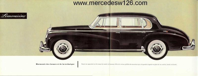 "Catalogue de 1951 sur la Mercedes W186 300 ""Adenauer"" W186_119"