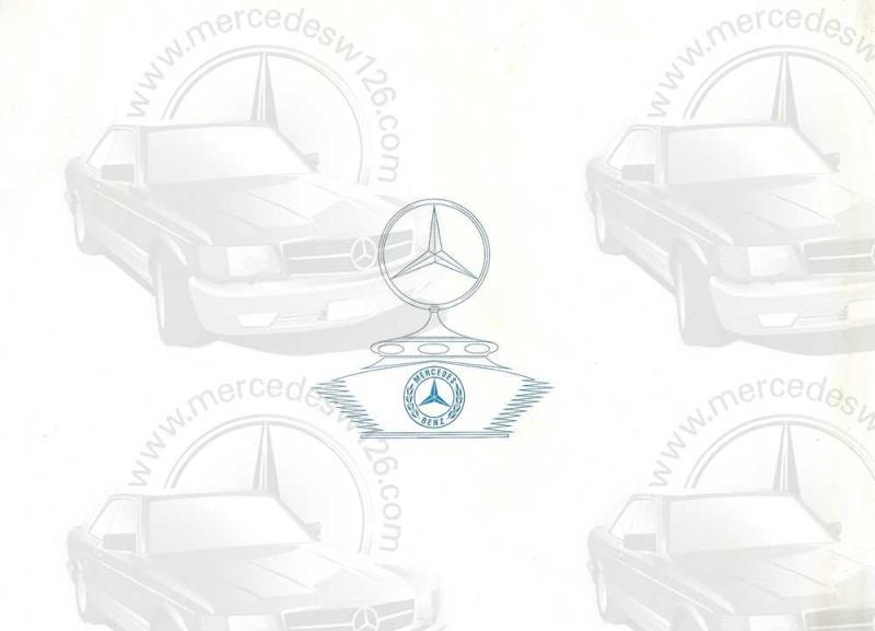 "Catalogue de 1954 sur la Mercedes W186 300 ""Adenauer"" W186_311"