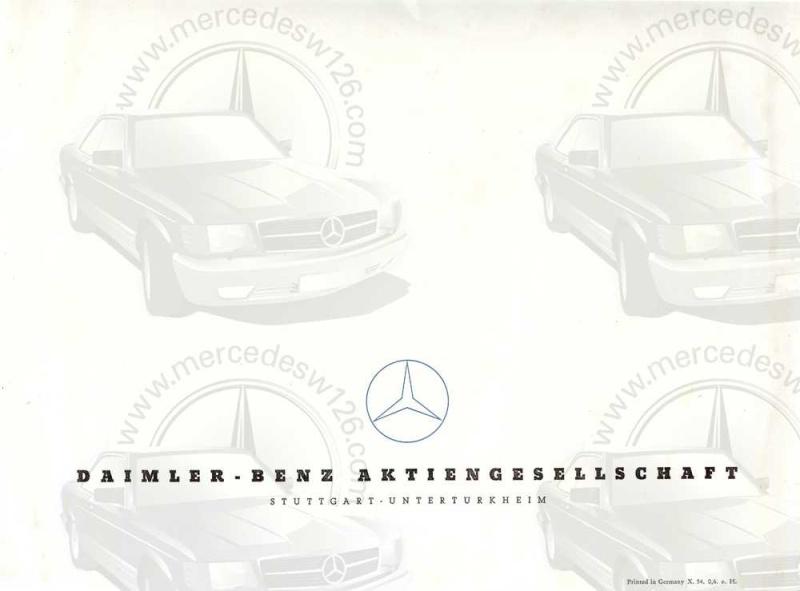 "Catalogue de 1954 sur la Mercedes W186 300 ""Adenauer"" W186_321"
