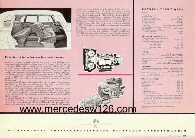Prospectus sur la Mercedes W186 300 W186_p11