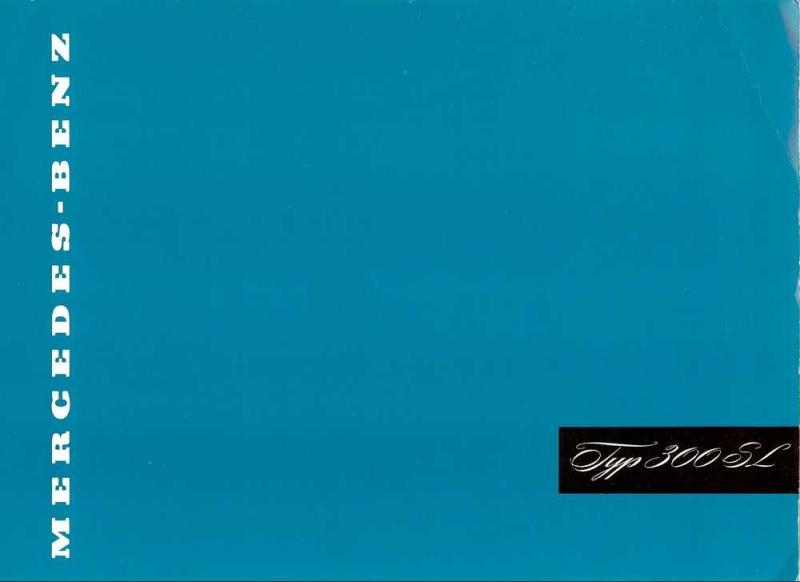 """Catalogue de 1956 sur la Mercedes W198 300 SL """"papillon"""" W198_110"""