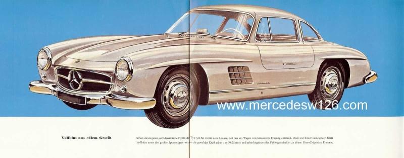 """Catalogue de 1956 sur la Mercedes W198 300 SL """"papillon"""" W198_115"""