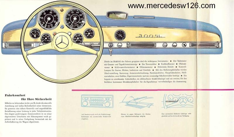 """Catalogue de 1956 sur la Mercedes W198 300 SL """"papillon"""" W198_120"""