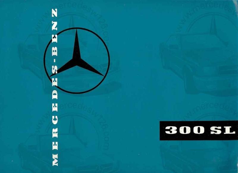 Catalogue de 1959 sur la Mercedes W198 300 SL W198_137