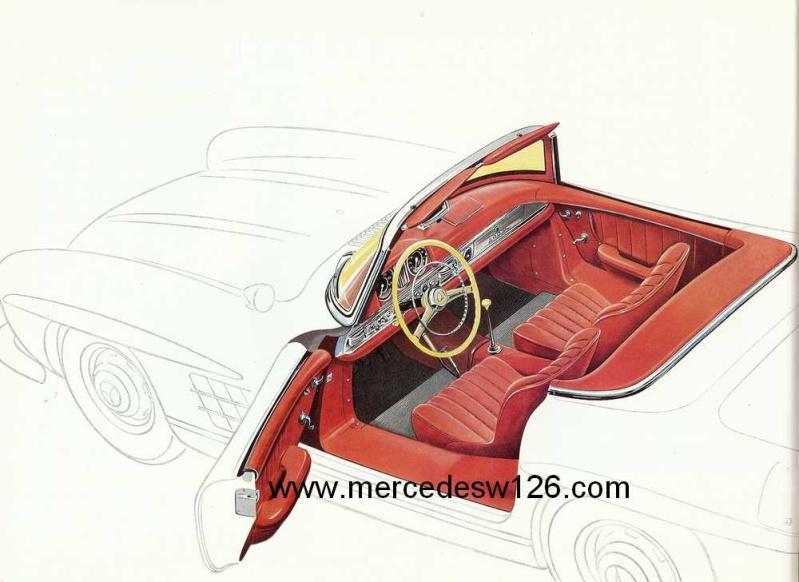 Catalogue de 1959 sur la Mercedes W198 300 SL W198_139