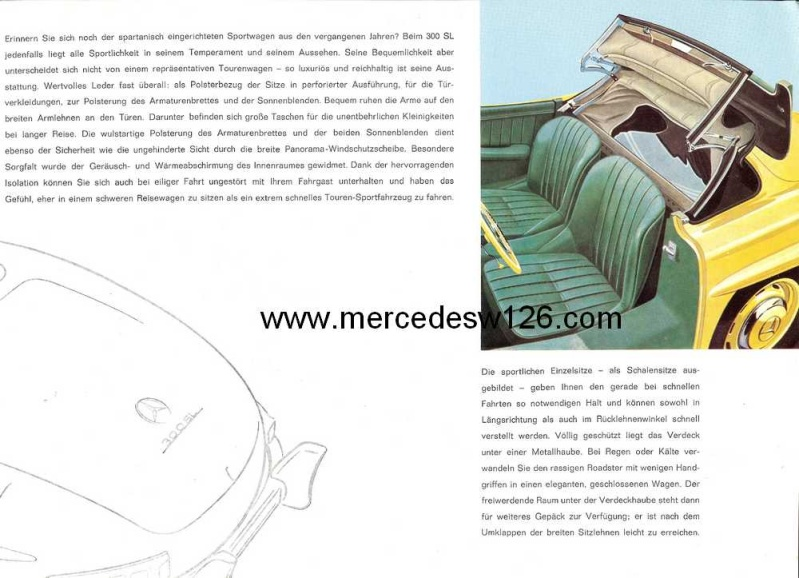 Catalogue de 1959 sur la Mercedes W198 300 SL W198_141