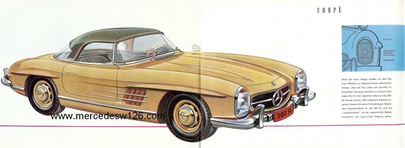 Catalogue de 1959 sur la Mercedes W198 300 SL W198_142