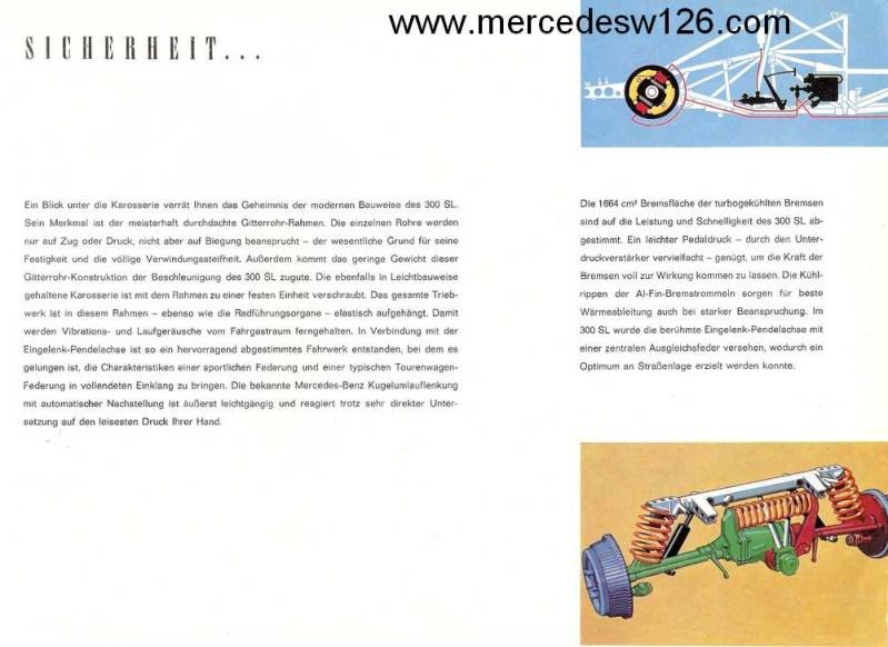 Catalogue de 1959 sur la Mercedes W198 300 SL W198_145