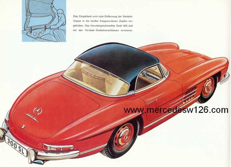 Catalogue de 1959 sur la Mercedes W198 300 SL W198_146