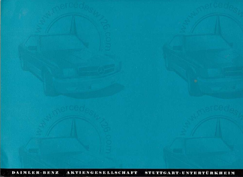 Catalogue de 1959 sur la Mercedes W198 300 SL W198_149