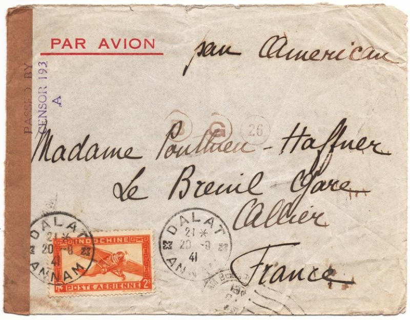 1941 Lettre d'Indochine 1941_c11