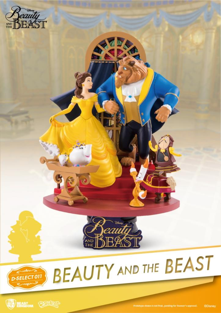 Beast Kingdom figurines D-Select / D-Stage 1112