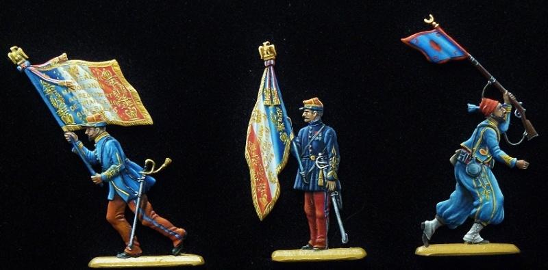 Tirailleurs algériens et zouave Second Empire - Droste 28mm P1150510