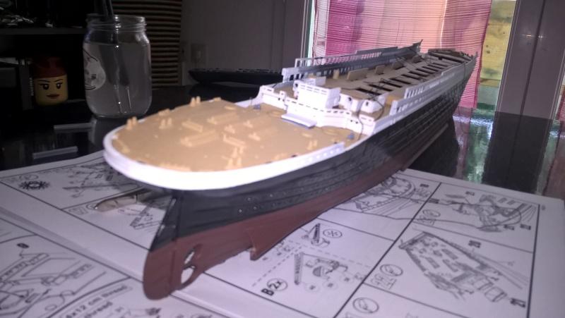 Titanic 1/400 Revell Wp_20115