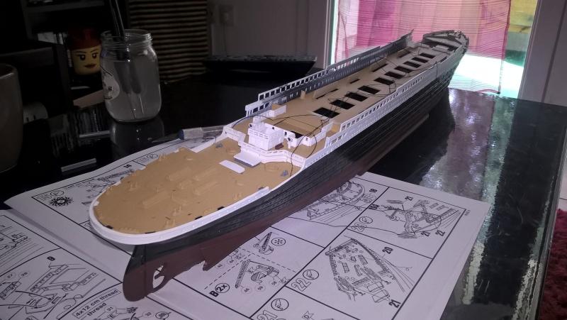 Titanic 1/400 Revell Wp_20117