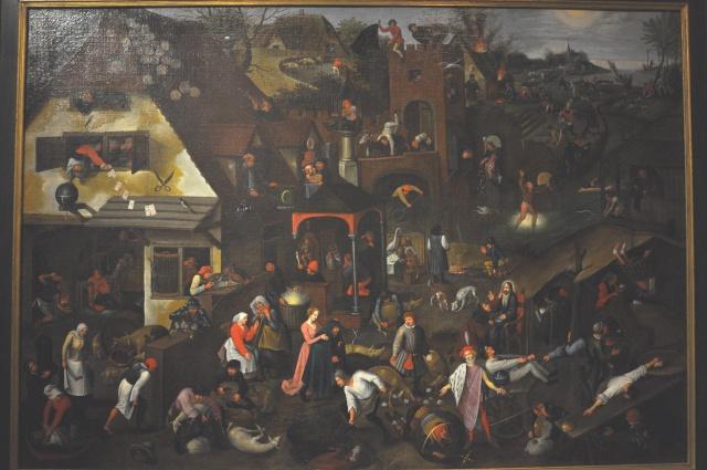 Breughel, Icare, danses paysannes et proverbes Breugh13