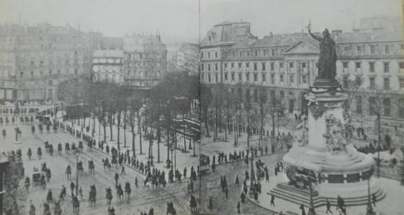 Une vie de statue (Paris, place de la République) Manife10