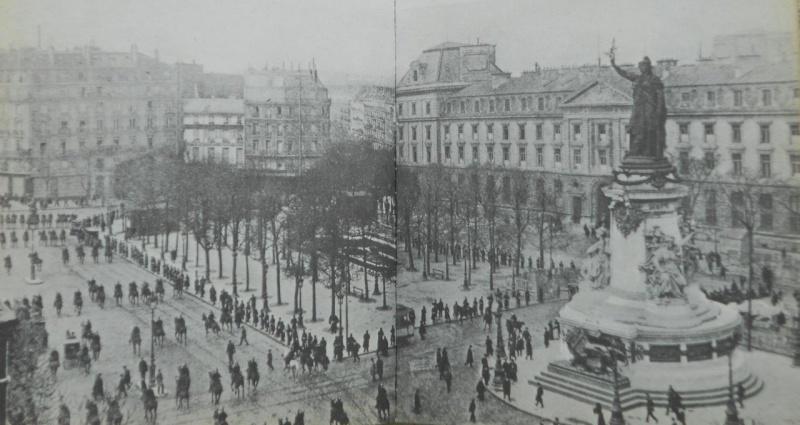 Une vie de statue (Paris, place de la République) Manife11