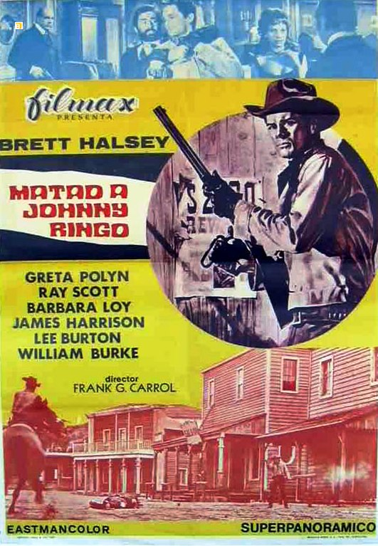 Tuez Johnny Ringo ( Uccidete Johnny Ringo ) – 1966 - Gianfranco BALDANELLO Matad-10