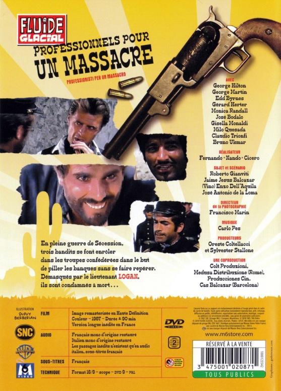 Professionnels pour un massacre - Professionisti per un Massacro - 1967 - Nando Cicero - Page 2 Profes10