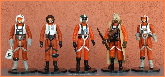 X-Wing and Snowspeeder Personnel - custom figures Custom10