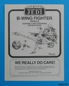 PROJECT OUTSIDE THE BOX - Star Wars Vehicles, Playsets, Mini Rigs & other boxed products  - Page 6 B_wing13