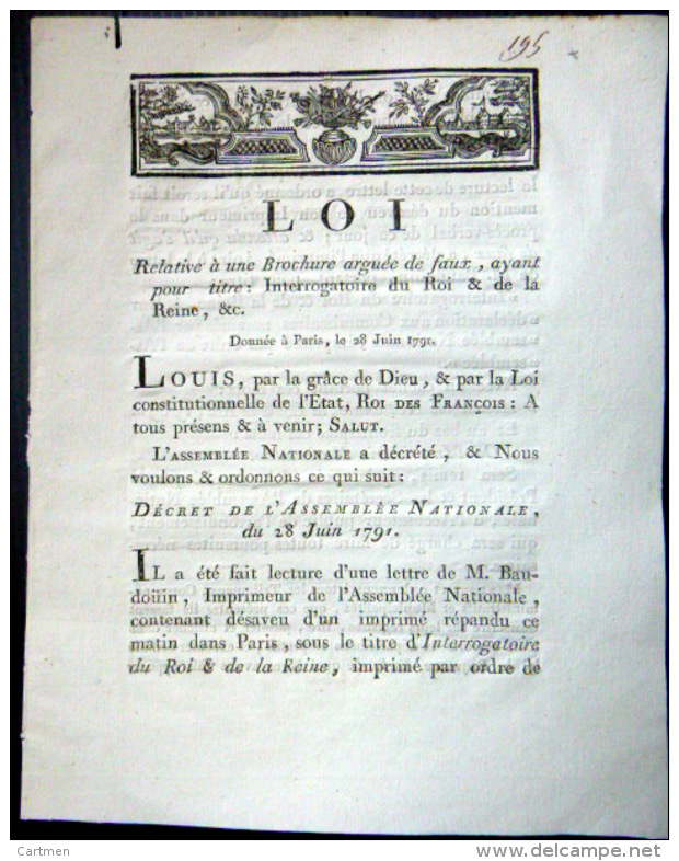Louis XVI , documents iconographiques et objets produits en Grande-Bretagne, une certaine image Loi_110