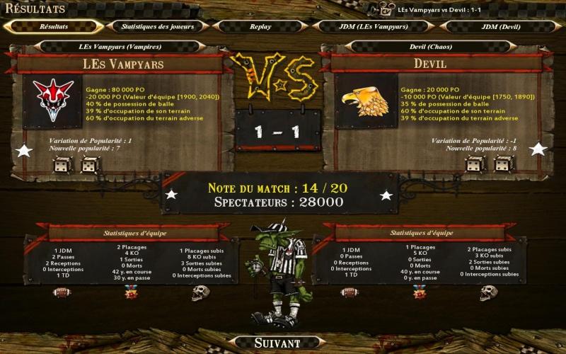 Devil (Kien) 1-1 LEs Vampyars (Cui) Bloodb12