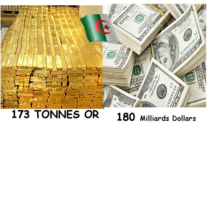 La richesse de l'Algérie s'éffrite avec la baisse prix petrole Aralgx10