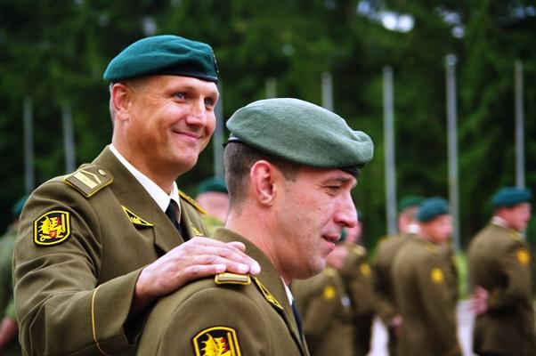 Lithuanian military and paramilitary berets Dragoo10