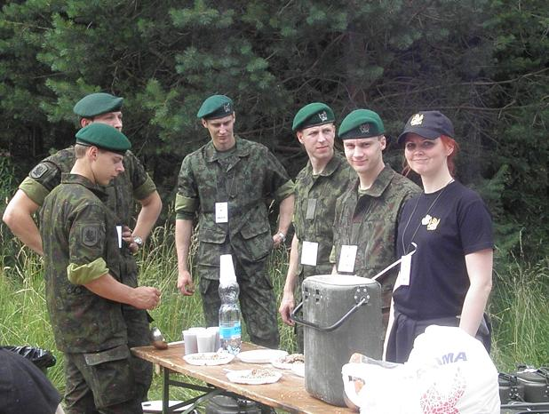 Lithuanian military and paramilitary berets Dragun11