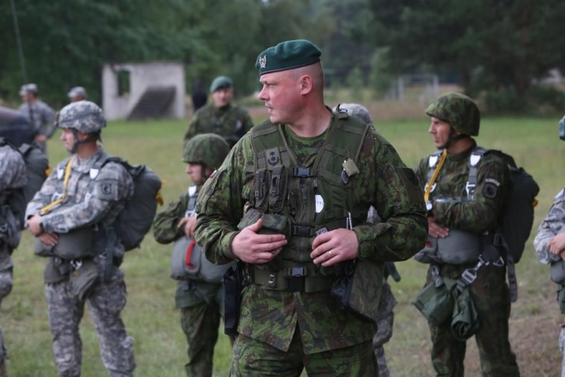 Lithuanian military and paramilitary berets Dragun12
