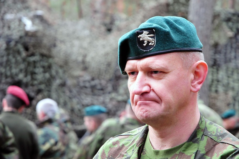 Lithuanian military and paramilitary berets Gvvada10