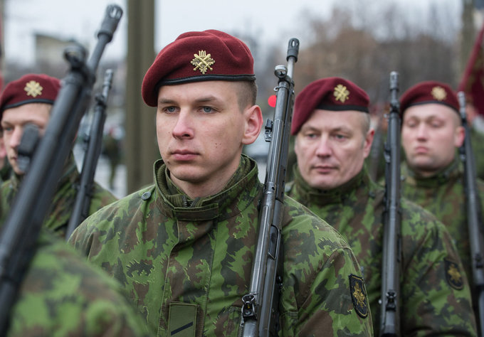 Lithuanian military and paramilitary berets Kasp10