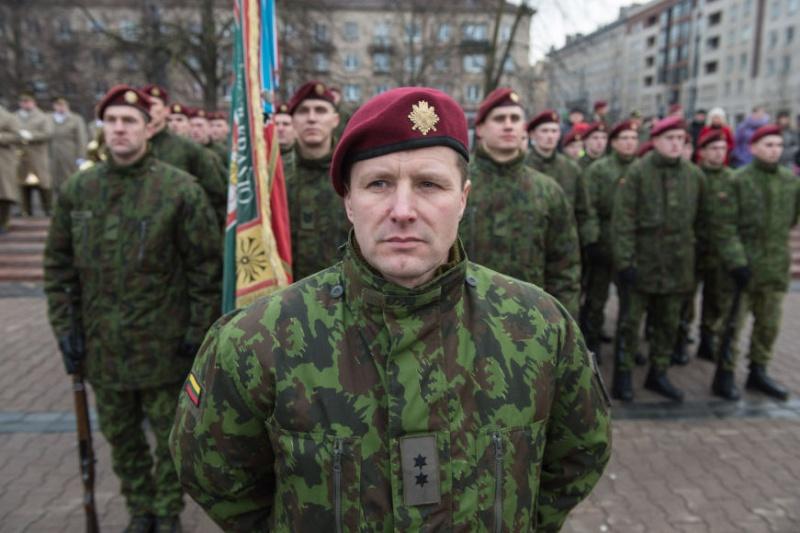 Lithuanian military and paramilitary berets Kasp110