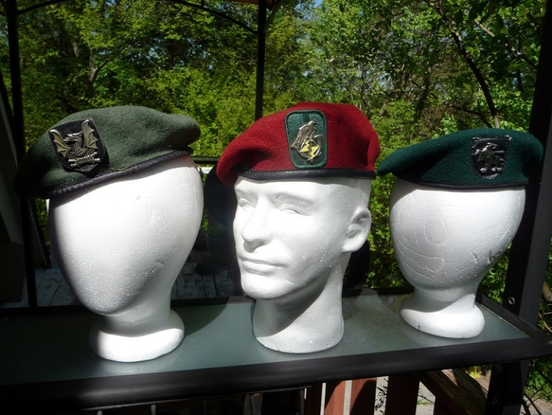 Lithuanian military and paramilitary berets Lk11