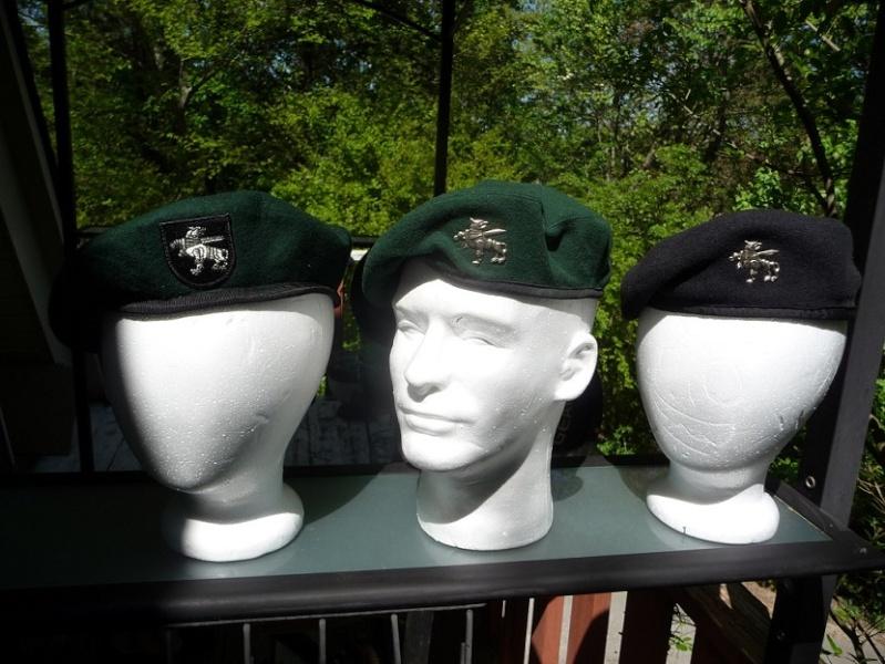 Lithuanian military and paramilitary berets Lk111