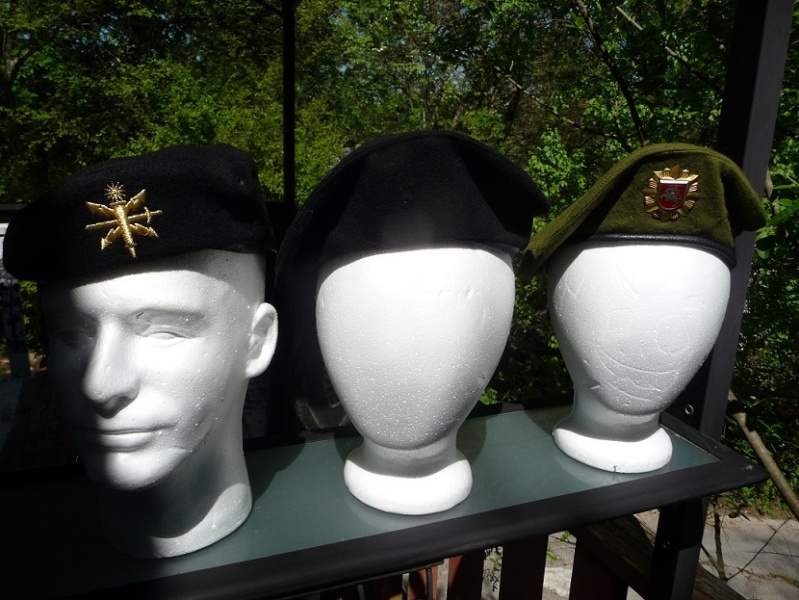 Lithuanian military and paramilitary berets Lk211