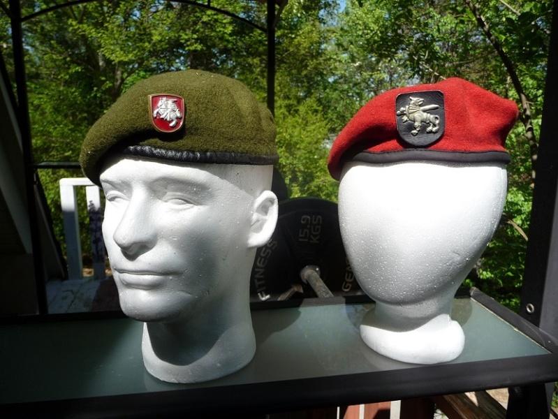 Lithuanian military and paramilitary berets Lk411