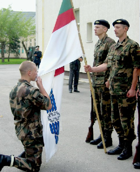 Lithuanian military and paramilitary berets Lkada10