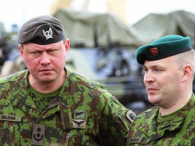 Lithuanian military and paramilitary berets Misrus10