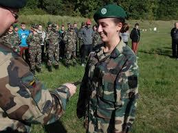 Lithuanian military and paramilitary berets Saule10