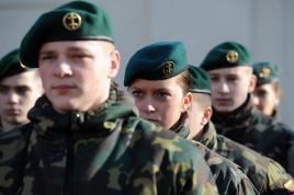 Lithuanian military and paramilitary berets Saulia10