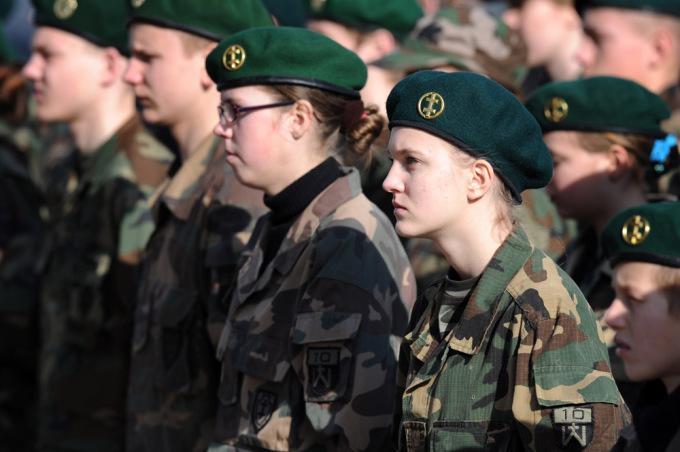 Lithuanian military and paramilitary berets Saulia11