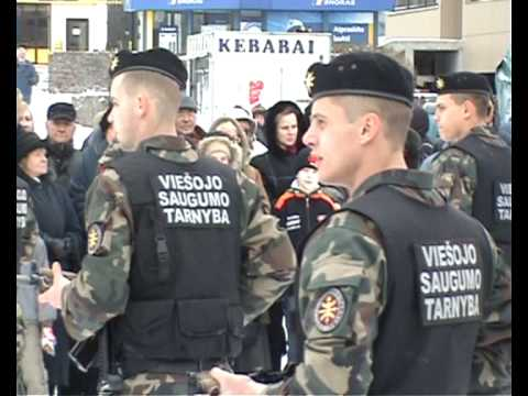 Lithuanian military and paramilitary berets Vst110