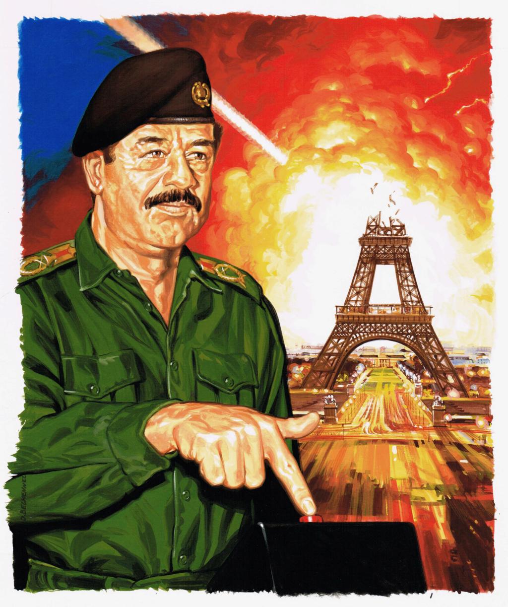 ILLUSTRATIONS DIVERSES. - Page 10 Saddam10