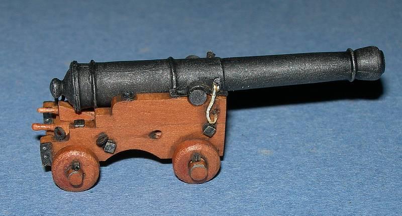 La Hoche, artillerie et accastillage 0710